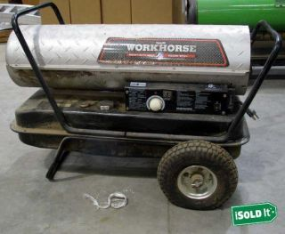 WORKHORSE BY DYNA GLO SHOP SPACE HEATER 120K BTU HEAVY DUTY FULLY