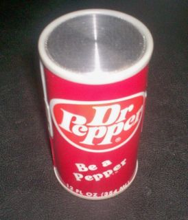 Vintage 70s Dr Pepper Soda Pop Transistor Can Radio Be A Pepper *NEW