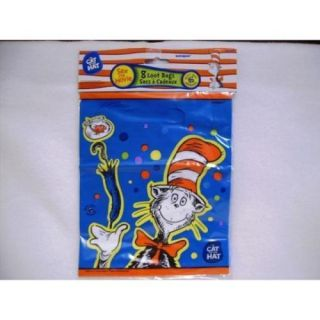 Dr Seuss Cat in The Hat Party Supplies Hats Candles Goodie Loot Bags