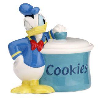 Disney Donald Duck Cookie Jar Licensed by Zrike Reg List Price $100