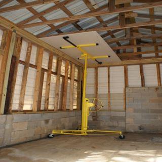 Professional Heavy Duty 11 16  Foot Drywall Lift Hoist Panel Lifter