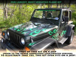Flame Decal Kit RAM PT Cruiser HHR Hot Rat Rod Wrecker Available in 16
