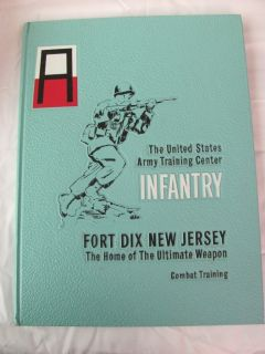 Infantry 1971 Army Training Center Fort Dix 5th Battalion Company A 2d