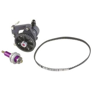 New Alcohol Belt Drive Fuel Pump Kit SBC Chevy