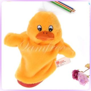 Yellow Duck Glove Plush Hand Puppet Teaching Resources