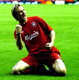 Liverpool Signed 2005 ECL Winners Jersey Shirt Gerrard Carragher