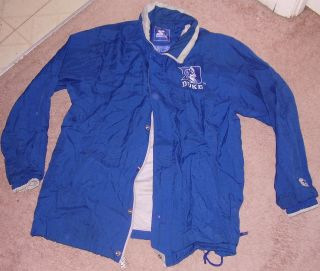 Duke Blue Devils Starter Jacket Coat Medium College