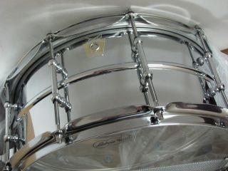 Ludwig Supra phonic Snare Drum Bonham Tube Lugs P85 Strainer USA