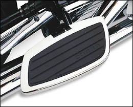 Cobra Swept Rear Floorboards Honda Shadow 750 Aero 07