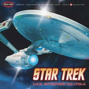 Polar Lights 808 Star Trek USS Enterprise NCC 1701A Plastic Model Kit