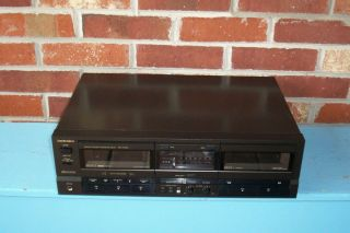 Technics Stereo Double Cassette Deck Model RS TR155 Excellent