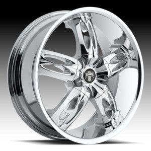 20 x10 Dub Nasty Car Chrome 5 6 Lug Wheels Rims