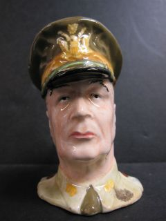 RARE Royal Winton Grimwades Gen Douglas MacArthur Miniature Toby