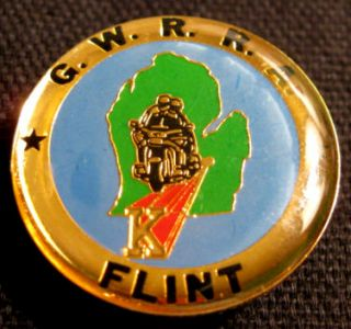 Gwrra Gold Wing Riders Flint Michigan Motorcycle Pin