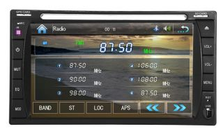 Car DVD Player Stereo Double 2 DIN Radio iPod RDS  4 USB SD