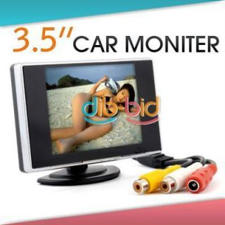 F LCD Car Rear View Color Camera Monior DVD
