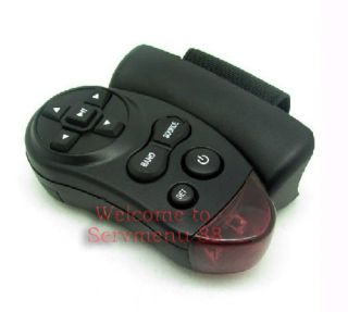 Steering Wheel universal IR Remote Control car truck GPS DVD audio 2