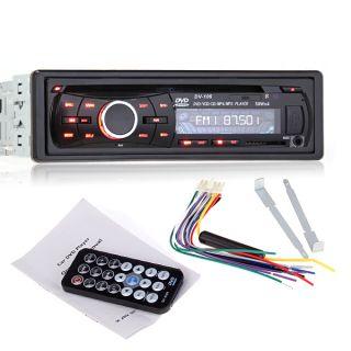 CAR VCD CD DVD Player Audio Radio Stereo  MP4 USB SD FM Receiver
