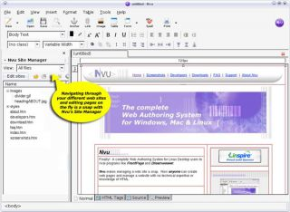 makes web creation as easy as typing a letter in a word processor