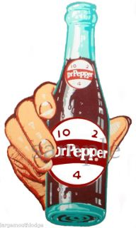 Dr Pepper Bottle Decal Coke Gumball Nut Machine
