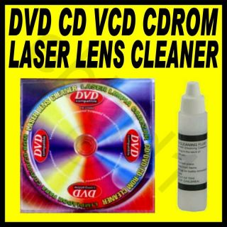CD ROM DVD PC Computer Game Player Laser Lens Cleaner