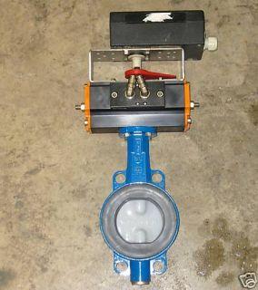 Ebro Armaturer Pneumatic Actuator Butterfly Valve EB5DW
