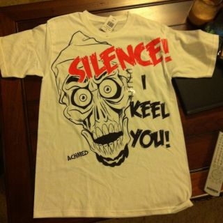 Jeff Dunham Silence I keel you Achmed Dead Terrorist T Shirt Medium