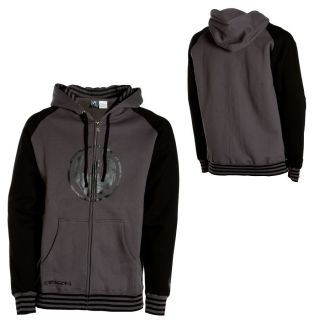 Dragon Optical Toned Full Zip Hoodie Mens Medium $65
