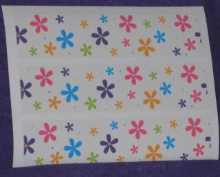 Daisy Prints Edible Icing Sheets Rice Paper Party