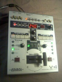 Edirol Roland V 4 Four Channel Video Mixer Switcher V4