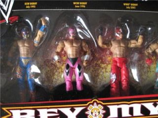 WWE Rey Mysterio Tru Exclusive 6 Pack Action Figures