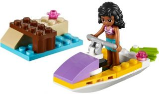 Lego Friends 41000 Water Scooter fun NEW IN BOX