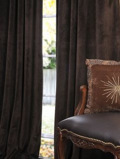 java pole pocket velvet blackout curtains drapes luxurious affordable