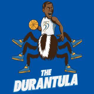 Kevin Durant Durantula T Shirt OKC Super Soft Thunder Tee Oklahoma