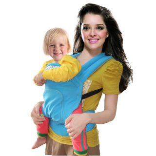 Front & Back Baby Carrier Infant Comfort Backpack Soft Sling Wrap