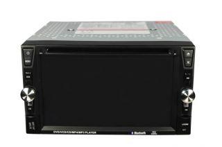 Double 2 DIN 6 2 Car DVD Player RDS  4 Radio USB SD Touchscreen