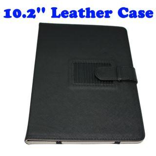 10 2 Leather Case Bag Skin for eBook Reader Tablet PC Mid