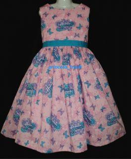 Princess Trunk Disney Hannah Montana Pink Dress Custom