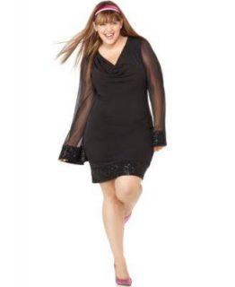 ruby rox dressy women s black dress sz 3x