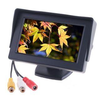 F LCD Car Reverse Rearview Color Monior DVD