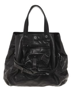 Jerome Dreyfuss Paris Large Billy Leather Bag $1200