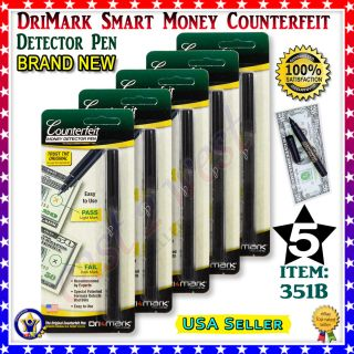 Drimark Smart Money Counterfeit Detector Marker Retail Pen Pacages