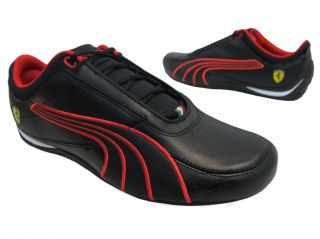 Puma Ferrari Mens Drift Cat 4 SF 30402802 Black Red Fashion Sneakers