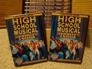 High School Musical DVD 2006 2 Disc Remix Edition