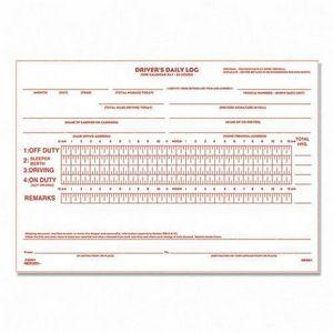 Rediform 6K681 Drivers Daily Log Book 31 Sheet s Stapled 2 Part