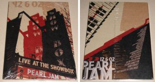 Pearl Jam DVD Live at The Showbox New SEALED Klausen Eddie Vedder PJ20