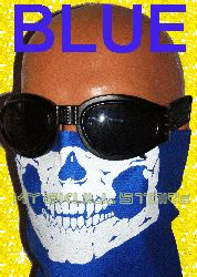 Skull Face Mask Child Kids Pretend Play Pink Blue Black