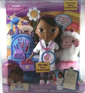 Doc McStuffins Time for Your Checkup Interactive Talking Doll