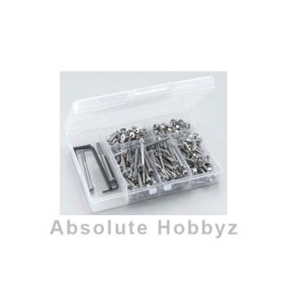 RC Screwz Traxxas E Maxx Stainless Steel Screw Kit RCZTRA002