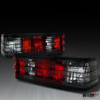 82 93 MERCEDES W201 190D/ 190E SMOKE & RED TAIL LIGHTS REAR BRAKE